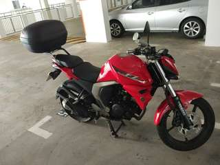 Yamaha FZN150 Sep2016