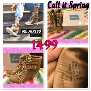 Auth Call it Spring Sneaker Wedge