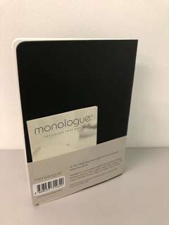 monologue basics A6 softcover sketch book