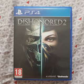 BD PS4 Dishonored 2