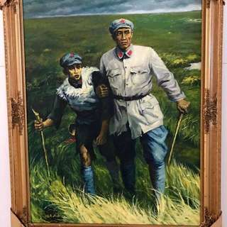 Oil Painting of Cultural Revolution