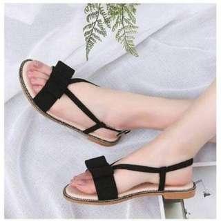 Sepatu Sendal Hitam Wanita