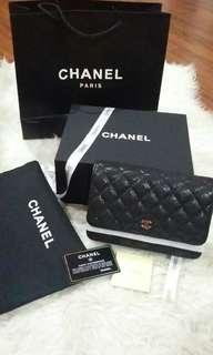 Chanel classic woc black caviar ghw