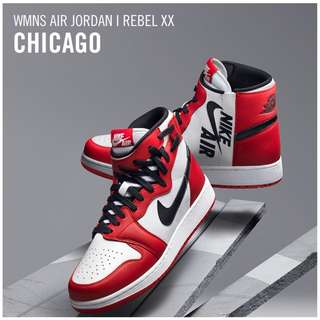 "Women's The Air Jordan 1 Rebel XX  ""Chicago""
