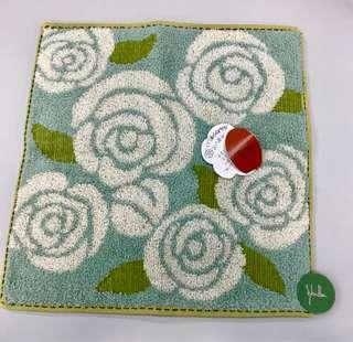 (購自日本🇯🇵) Tiffany blue 玫瑰花 手巾