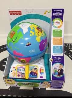 Fisherprice globe toy