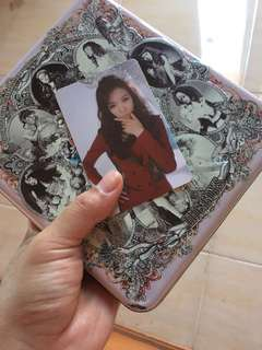 Album SNSD girls generation the boys tiffany photocard