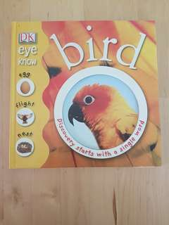 Books - DK Eye Know: Bird, Water and Tree *Preloved, in good condition!*
