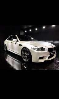 Bmw 520i Wedding Rental Car