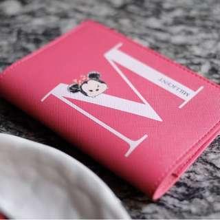 🚚 CUSTOM PASSPORT HOLDER minnie mouse