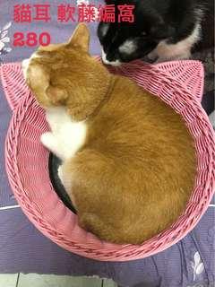 貓耳 軟藤窩