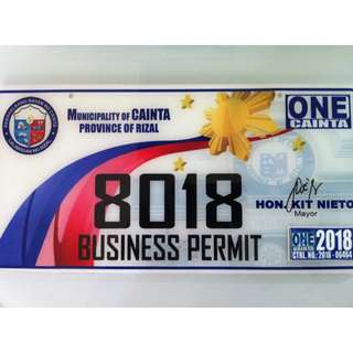Business Permit 2018