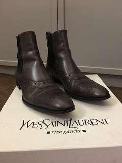 YSL 男庄皮boot