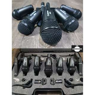 Alctron T8400 7pcs Drum Mic Package