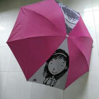 Popular Bookstore Limited Edition Collectible Umbrella