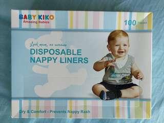 Baby Kiko Nappy liner