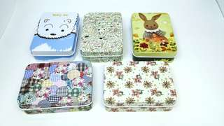 🚚 Cute metal box for storage or gift (Option 1)
