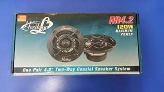 Lanzar Heritage HR4.2 Two-Way Coaxial Speaker System