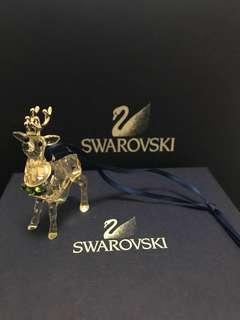 Swarovski 水晶擺設 施華洛世奇 鹿 吊飾 可掛起