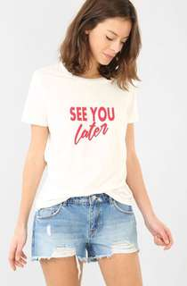 See You Later Graphic Tshirt