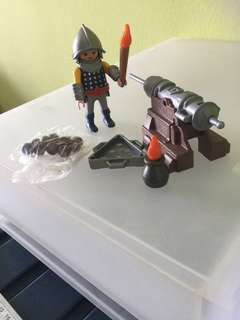 Playmobil 3316 cannon guard