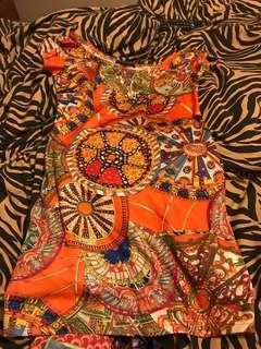 Colourful hippie dress