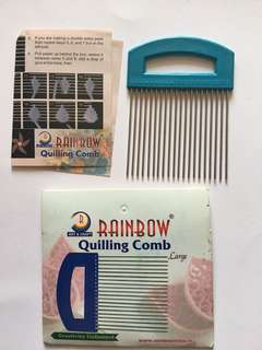 Paper craft Quilling comb large