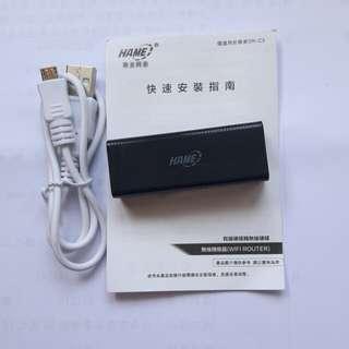 有線硬碟轉無線硬碟(無線轉換器WiFi routet)含運費只要600元。