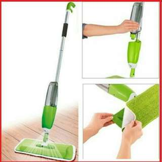 Alat Pel Lantai Semprot Spray Mop Bolde Alat Pel Spraymop Praktis Ready Kain Refil MuRAH