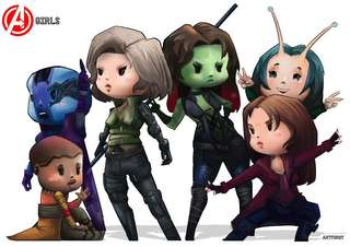 Avengers Girls- Infinity War