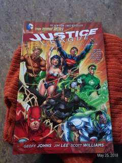The new 52 (Justice League) vol 1 origin