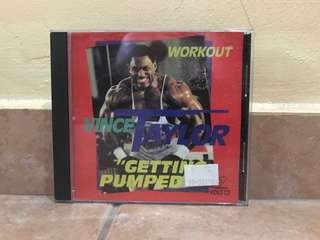 Vince Taylor getting pumped workout