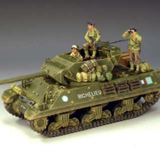 DD101 FREE FRENCH M10 TANK DESTROYER BY KING & COUNTRY (RETIRED