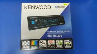 Kenwood CD-Receiver with USB Interface