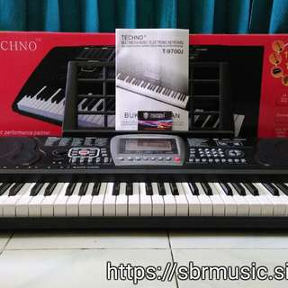 Keyboard/piano techno t-9700i.g3 (Cash&Credit)