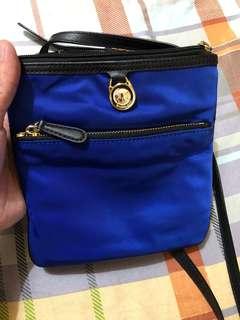 MK Blue Sling Bag