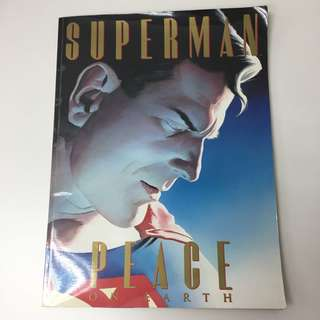 Superman Peace on Earth Treasury Sized Comic  1998