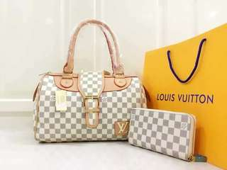 #017 Lv shoulder bag set