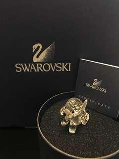 Swarovski 水晶 施華洛世奇 狗仔擺設