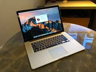 "MacBook Pro 15"" Retina (Mid 2012 model)"