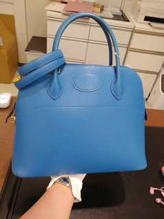 Hermes bolide 31 france blue