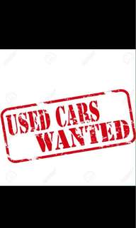 Buy all scrap and used cars..Best and highest $$
