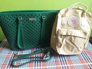 SET SALE: kate spade and Kanken mini backpack