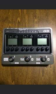 Zoom G3 multieffects pedal