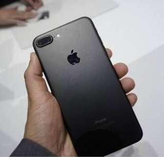 iPhone 7 Plus Matte Black 128G