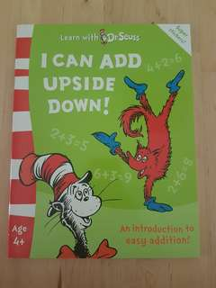 Book - Learn with Dr Seuss: I Can Add Upside Down! *In brand new condition!*