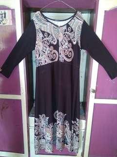 Gamis katun jepang dan dress