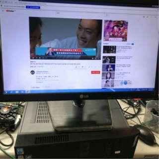 速達二手電腦 桌上型套裝組 (主機+螢幕) IBM電競主機i5/8g/500g/獨顯天堂m三開