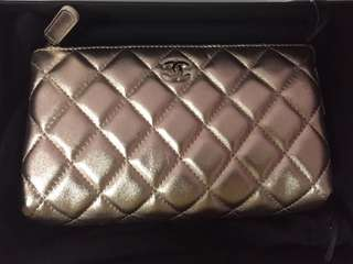 Chanel Small Leather Good Pouch