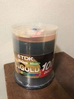 CD-R discs (Gold)